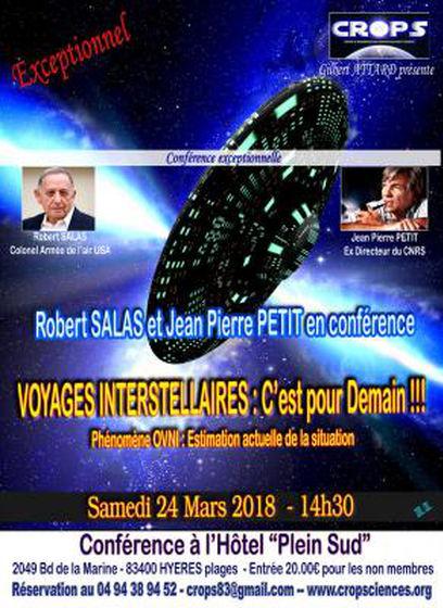 Conférences de Jean-Pierre Petit et Robert Salas