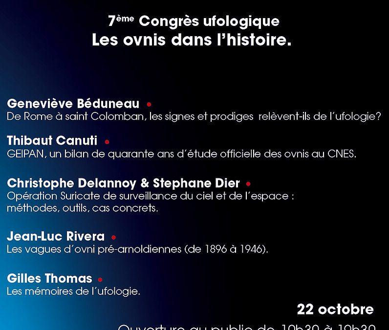 7 ème congrès Ufologique OVNI Languedoc