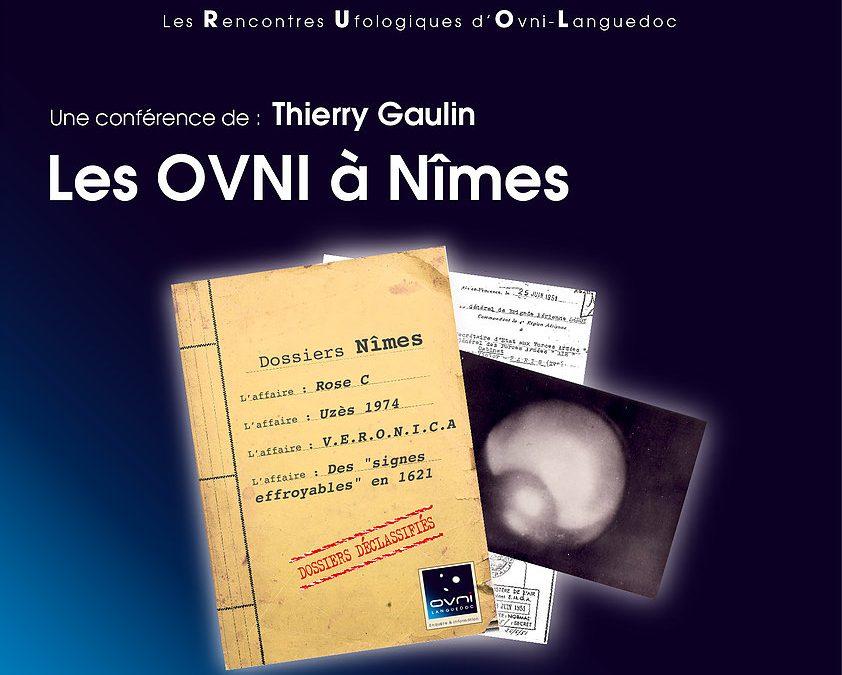 Thierry Gaulin présentera 2 conférences  très prochainement