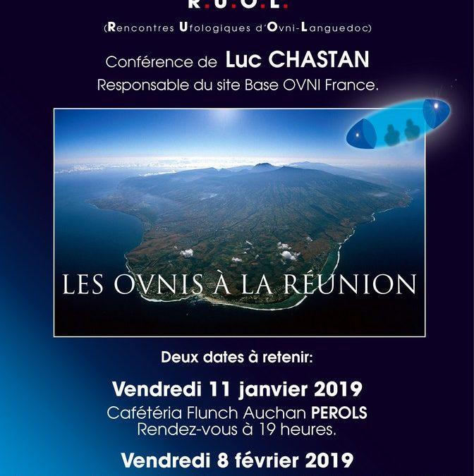 Conférences de Luc Chastan