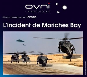 Conférence de James le 5 octobre 2018 à Nîmes (30): « L'incident de Moriches Bay. »