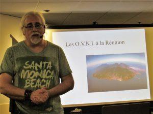 11 janvier 2019.Conférence de Luc Chastan aux R.U.O.L. (Rencontres Ufologiques d'OVNI-Languedoc) de Pérols (Hérault): «Les OVNIS à La Réunion».