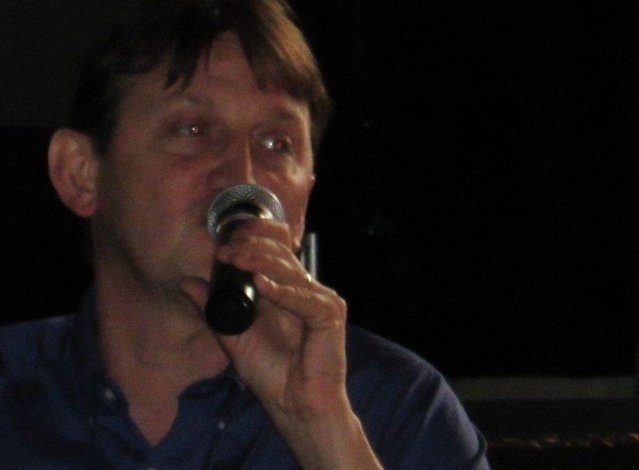 Franck MAURIN aux Rencontres ufologiques d'OVNI-Languedoc le 8/11/19