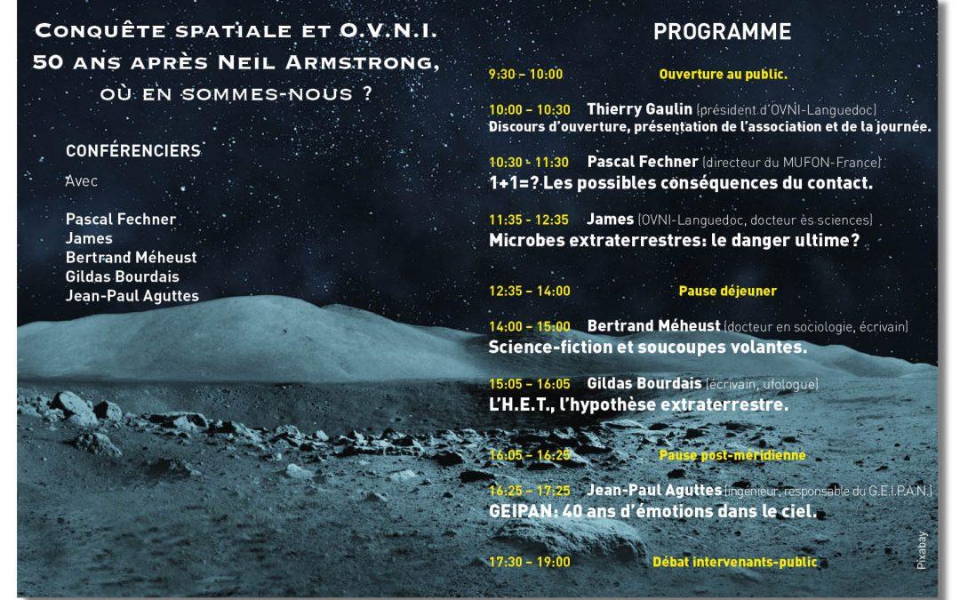 X° Congrès ufologique: demandez le programme!