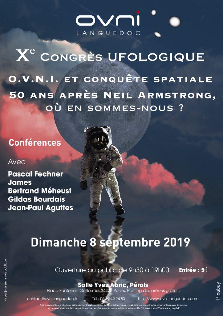 Le X° congrès d'OVNI-Languedoc fait un clin d'oeil au cinquantenaire