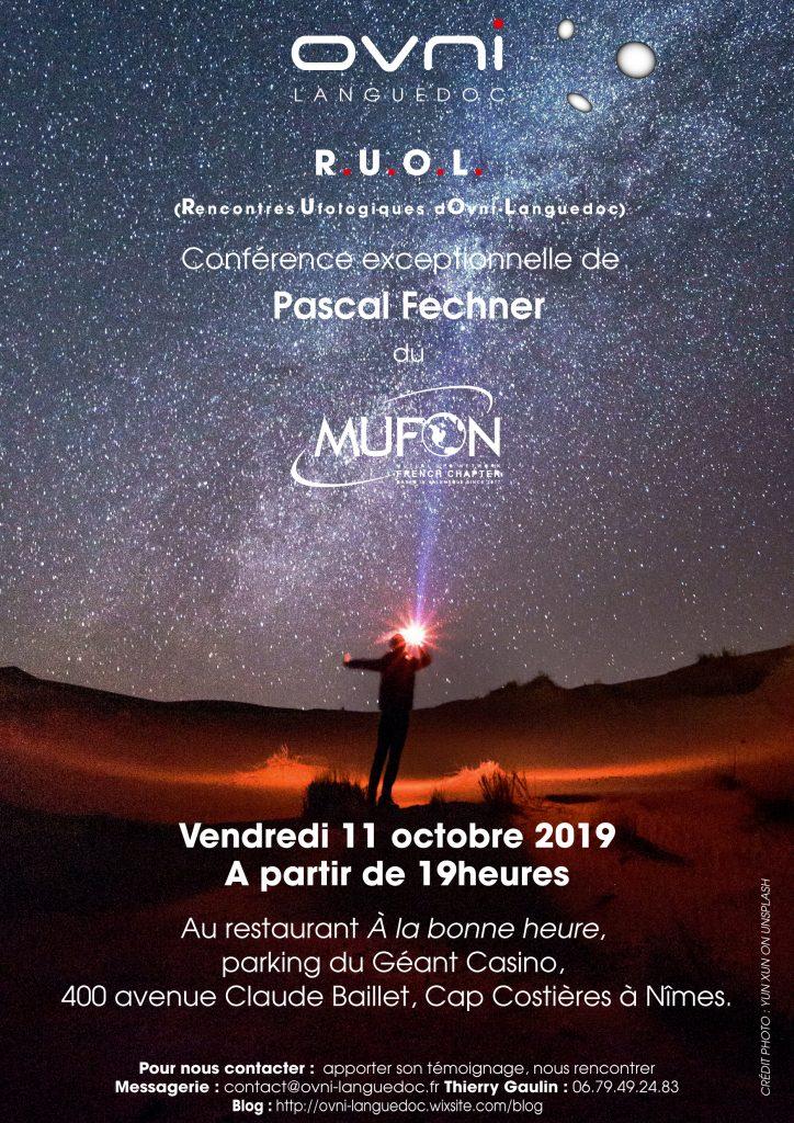 Le Mufon-France aux Rencontres Ufologiques d'OVNI-Languedoc